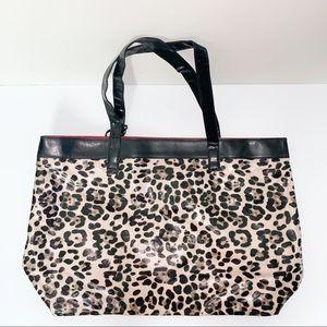 NEIMAN MARCUS | Leopard Tote Handbag